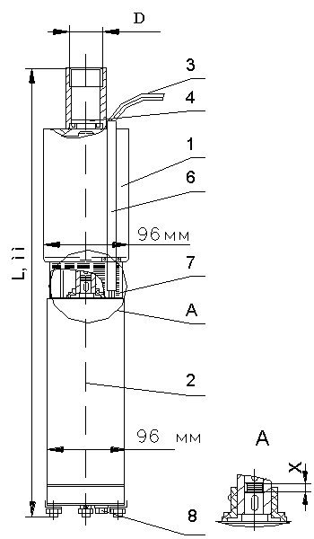 Устройство и комплектация насоса ЭЦВ-4